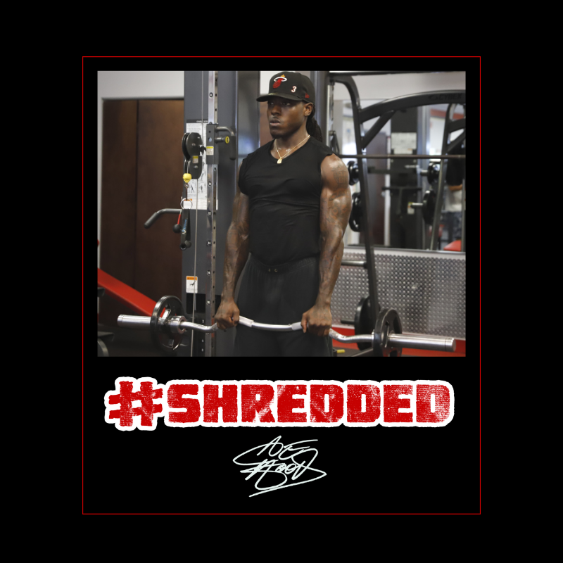 #Shredded Brand Lead ace hood